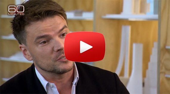 Bjarke Ingels on CBS's 60 Minutes