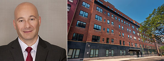 "Gaia Real Estate Managing Partner Danny Fishman and ""Nine52"" at 416 West 52nd Street in Midtown"