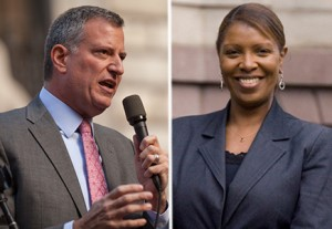 Bill De Blasio Letitia James
