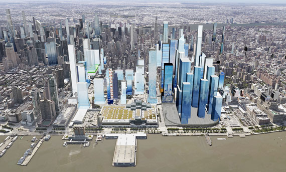 Hudson Yards rendering (Image courtesy of Cityrealty)