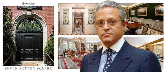 Guy Wildenstein and promotional materials for 7 Sutton Square