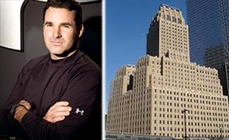From left: Under Armour CEO Kevin Plank and 140 West Street