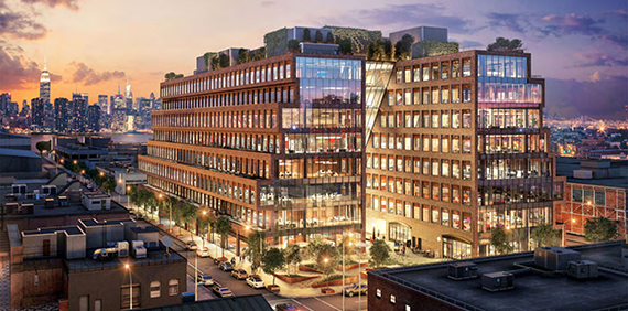 Rendering of 25 Kent Avenue