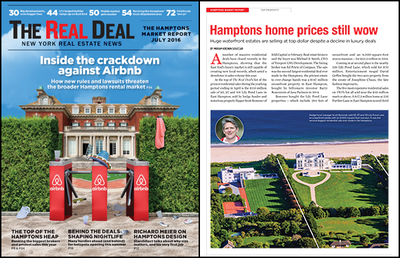 Issue is live Hamptons