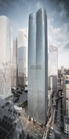 Rendering of 15 Hudson Yards