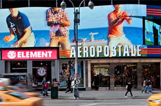 Aeropostale's store at 1515 Broadway