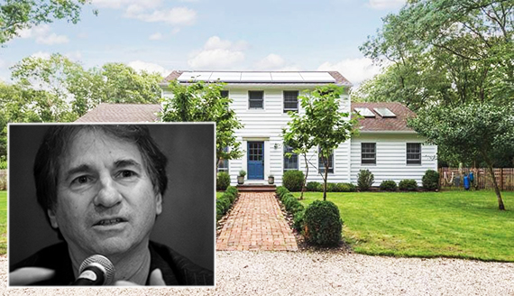 Barry Scheck and his new home at