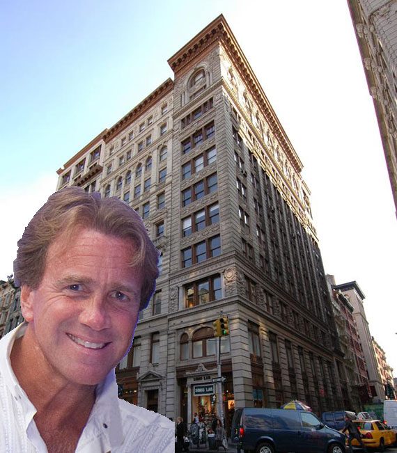 Jeff Sutton and 530 Broadway in Soho