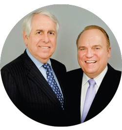 Gary Rosenberg, left, and Warren Estis