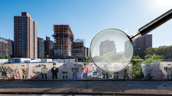 Construction on four of the nine buildings at Essex Crossing is underway (Photos by Field Condition)