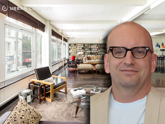 Steven Soderbergh and his former Chelsea apartmnet via Wiki Commons
