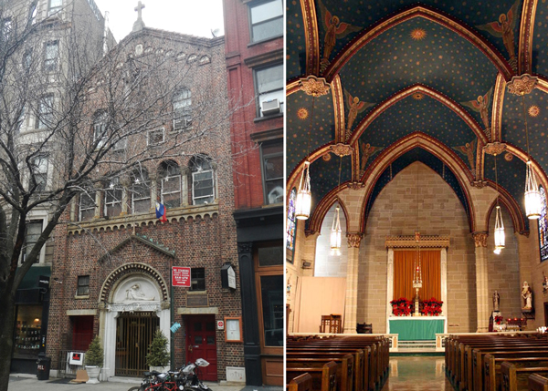 Archdiocese new york chapel san lorenzo ruiz for Churches for sale in ny