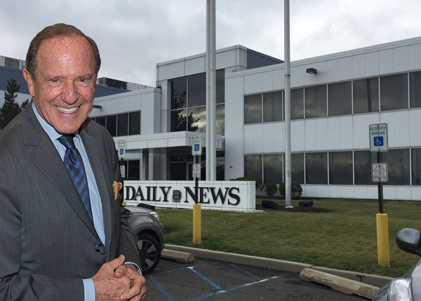 NY Daily News to be sold to tronc, co-publisher says