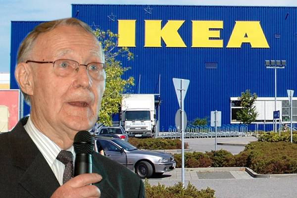 ikea founder ingvar kamprad dies at 91 adonait. Black Bedroom Furniture Sets. Home Design Ideas