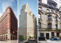 From left: 275 West 10th Street, 250 West 81st Street and 320 West 101st Street
