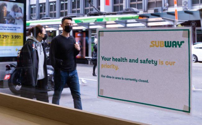 """Subway sent its landlords a """"force majeure"""" letter last week (Photo by Mikko Robles/NurPhoto via Getty Images)"""