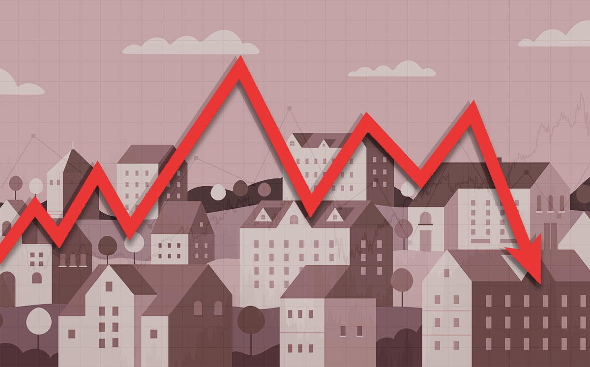 REIT Stocks Fell Monday (Credit: iStock)