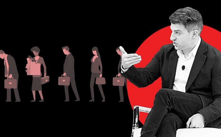 Airbnb CEO Brian Chesky (Chesky via by Mike Cohen/Getty Images for The New York Times)