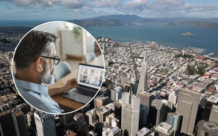 Companies across the U.S. are warming up to the idea of remote working. Some employees who live in expensive regions like the San Francisco Bay Area, figure they might as well move someplace cheaper. (Credit: iStock)