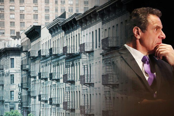 A federal judge in New York has rejected claims by three landlords in that Gov. Andrew Cuomo's eviction moratorium violates their rights. (Getty)