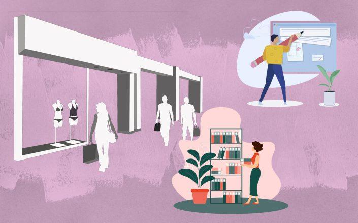 """""""Our role as owner is shifting from what was solely 'the librarian' — collecting rent, renting shops and cleaning spaces — to becoming an 'editor' of the space."""" (iStock)"""