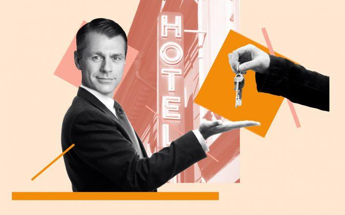 Photo illustration of Brookfield Property Partners' Brian Kingston (Brookfield, iStock)