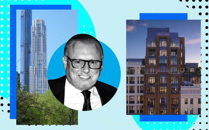 220 Central Park South with Michael Cantanucci and 378 West End Avenue (Photos via Getty Images, Jim.henderson/Wikimedia, 378WEA)